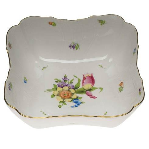 Herend Collections Printemps Square Salad Bowl $500.00