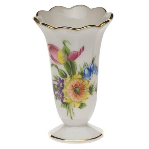 Herend Collections Printemps Scalloped Bud Vase $75.00
