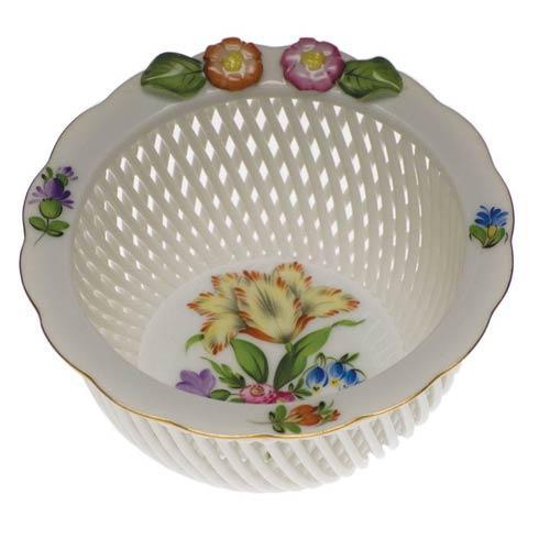 $165.00 Openwork Basket