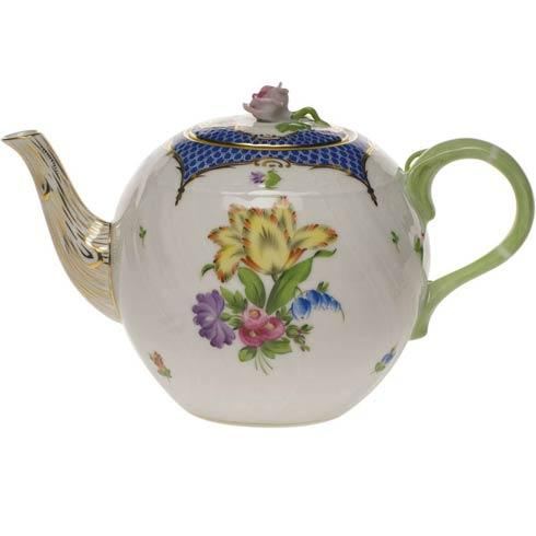 Tea Pot W/Rose