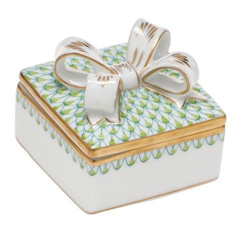 $185.00 Box with Bow - Key Lime
