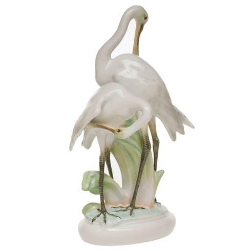 $1,235.00 Pair Of Cranes