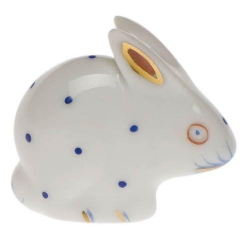 Herend Figurines Bunnies Miniature Rabbit $60.00
