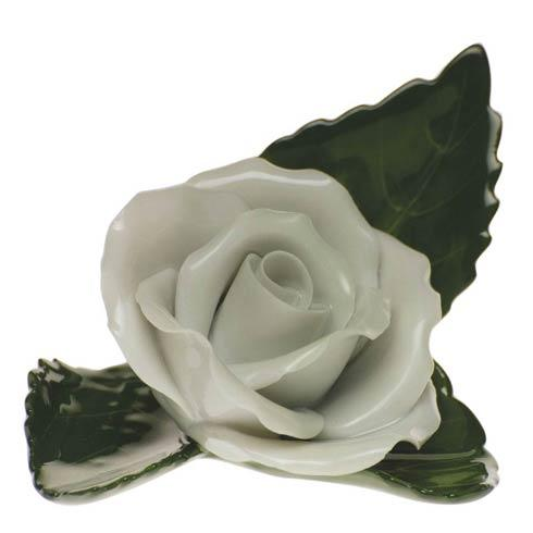 Herend Home Accessories Placecard Holders Rose On Leaf $60.00