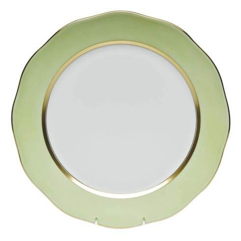Herend  Silk Ribbon Charger  Lime $300.00