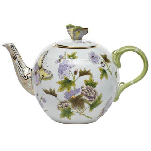 Tea Pot W/Butterfly