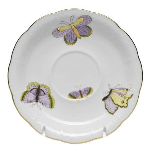 Herend  Royal Garden Tea Saucer $55.00
