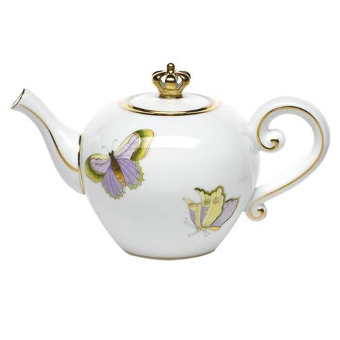 Herend  Royal Garden Ltd Edition Tea Pot W/ Crown $310.00