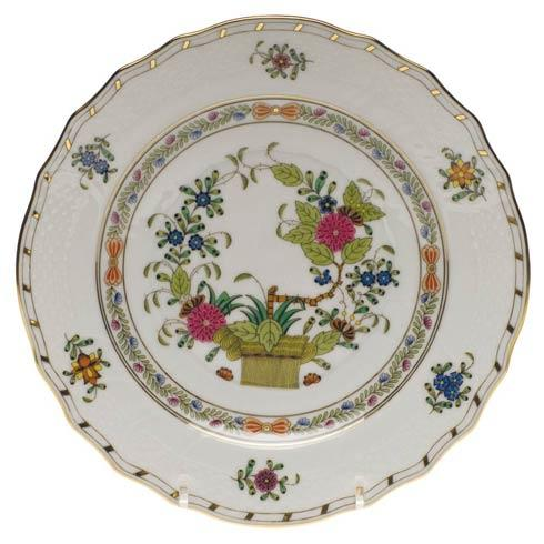 Herend  Indian Basket Salad Plate $195.00