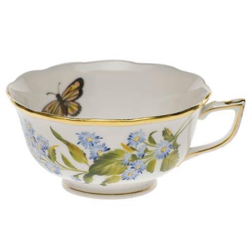 $225.00 Tea Cup - Blue Wood Aster