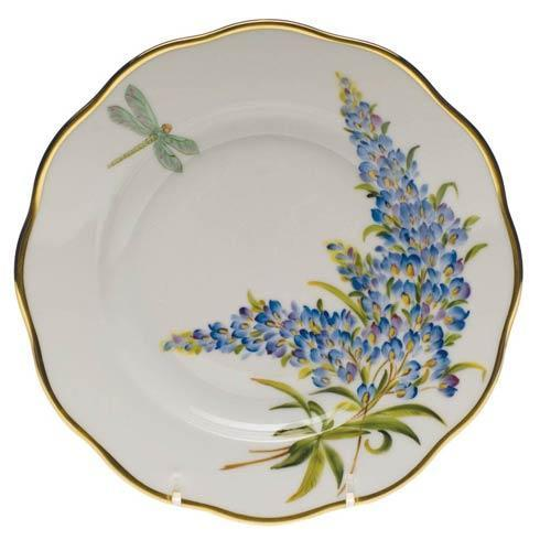 Herend  American Wildflower Salad Plate $235.00