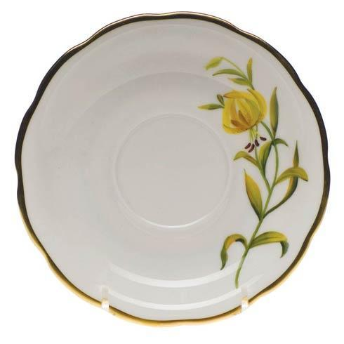 $110.00 Tea Saucer - Meadow Lily