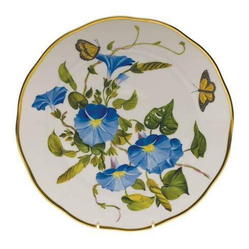 Herend  American Wildflower Dinner Plate - Morning Glory $400.00