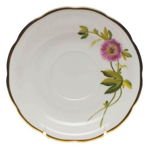 $110.00 Tea Saucer - Passion Flower
