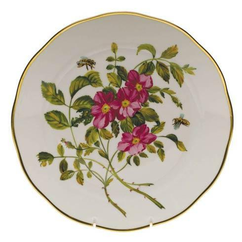 $400.00 Dinner Plate - Prairie Rose