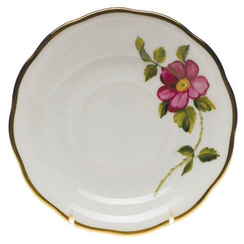 $110.00 Tea Saucer - Prairie Rose