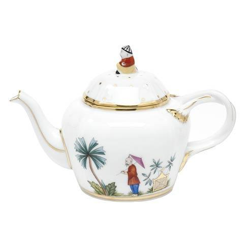$435.00 Asian Garden Limited Edition Teapot - Multicolor