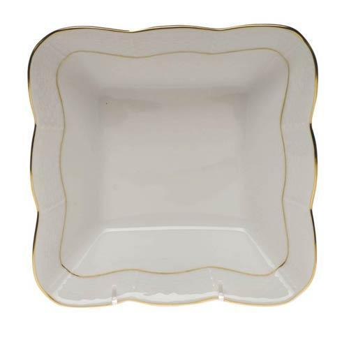 Herend  Golden Edge Square Dish $145.00