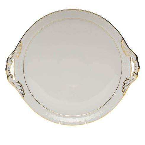 Round Tray W/Handles