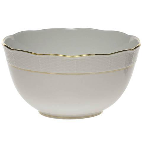 Herend  Golden Edge Round Bowl $100.00