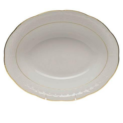 Herend  Golden Edge Oval Veg Dish $125.00