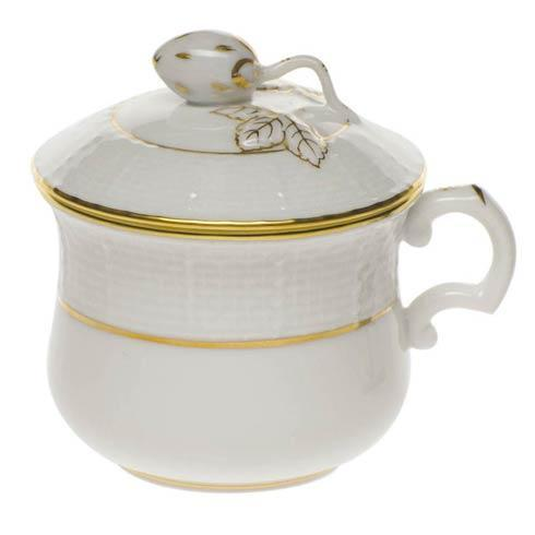 Herend Collections Golden Edge Pot De Creme W/Berry $70.00