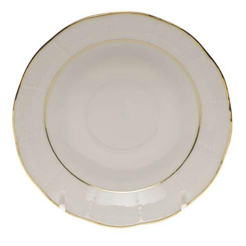 Herend  Golden Edge After Dinner Saucer $30.00