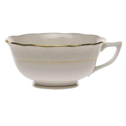 Herend  Golden Edge Tea Cup $55.00