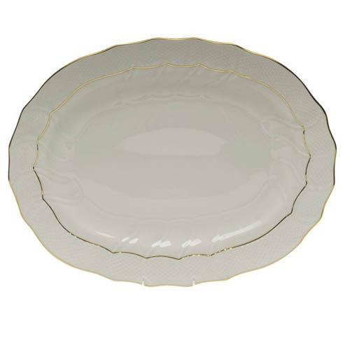 Herend  Golden Edge Platter $290.00