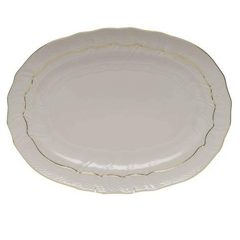 Herend  Golden Edge Platter $235.00