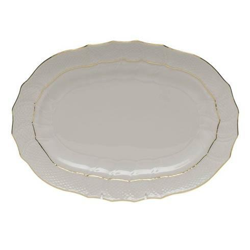 Herend  Golden Edge Platter $210.00