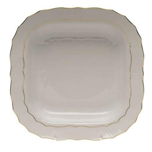 Herend  Golden Edge Square Fruit Dish $190.00