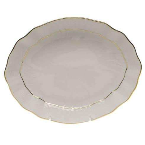 Herend  Golden Edge Oval Dish $80.00