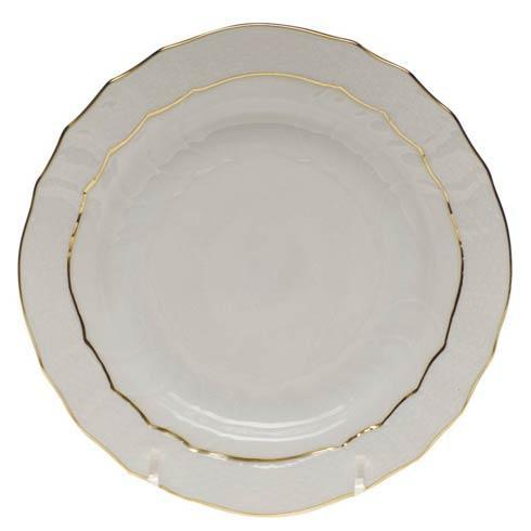 Herend  Golden Edge Bread & Butter Plate $55.00
