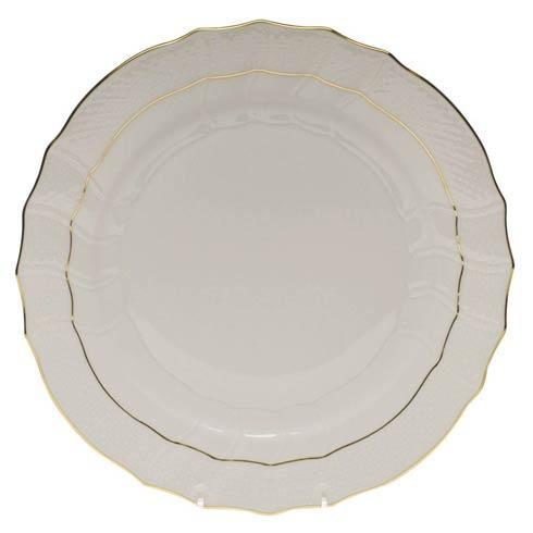 Herend  Golden Edge Dinner Plate $75.00