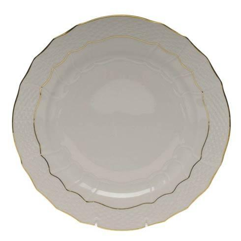 Herend  Golden Edge Service Plate $100.00