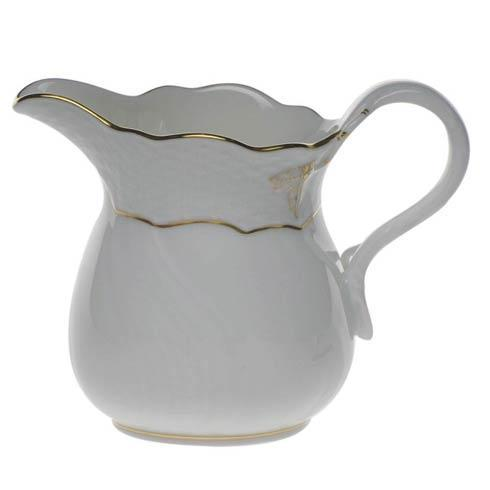 Herend  Golden Edge Creamer $70.00