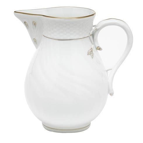 Herend  Golden Edge Pitcher -  Multicolor $190.00
