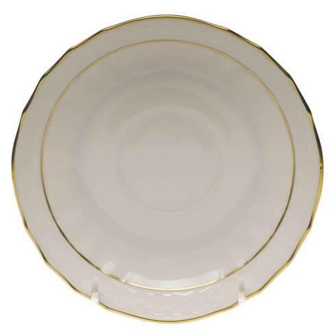 Herend  Golden Edge Canton Saucer $30.00