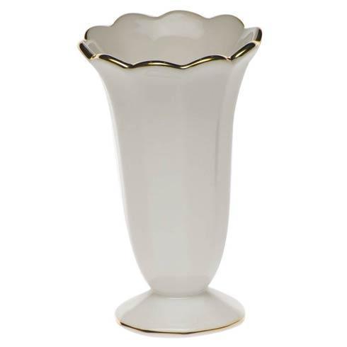 Herend  Golden Edge Scalloped Bud Vase $55.00