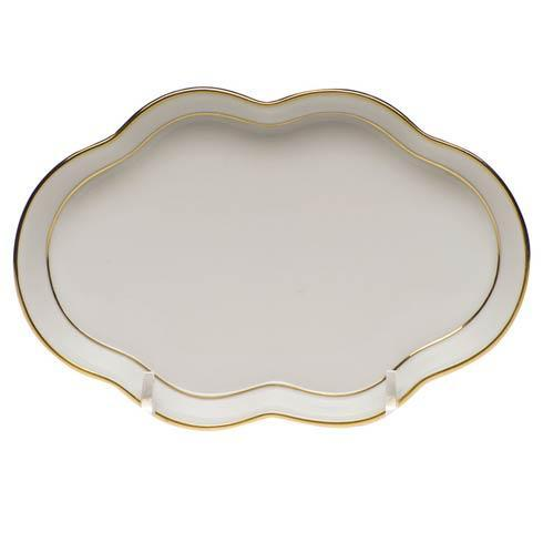 Small Scalloped Tray