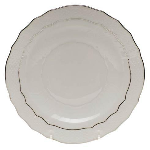 Herend  Platinum Edge Salad Plate $60.00