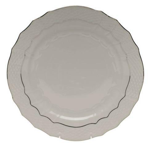 Herend  Platinum Edge Service Plate $100.00
