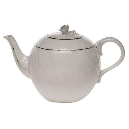 $190.00 Tea Pot W/Rose