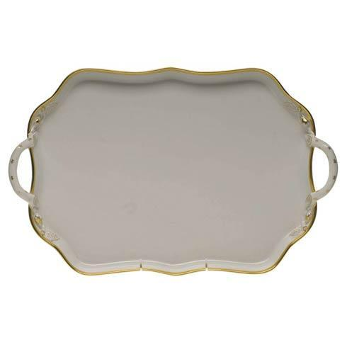$435.00 Rectangular Tray W/Handles