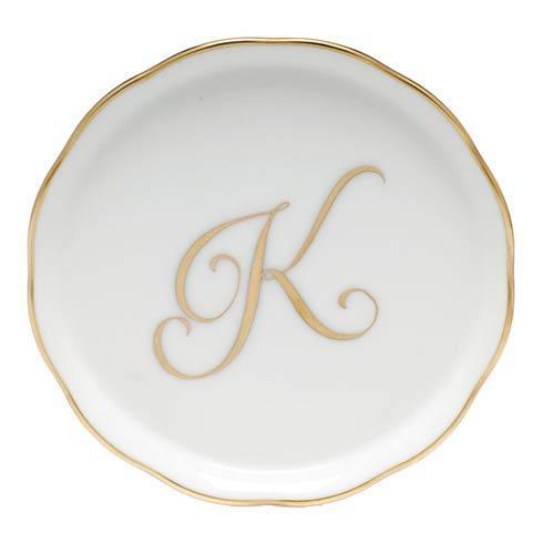 $30.00 Monogram Coaster - K