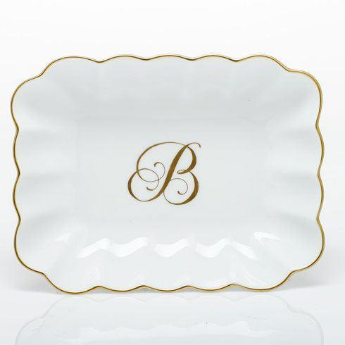 Oblong Dish with Monogram - Multicolor ...  sc 1 st  Herend Shop by J. Yeager - Bridge & Herend Decorative Dishes products