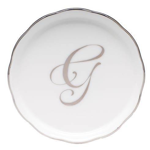 Monogram Coasters - Silver collection