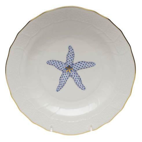 Herend  Aquatic Dessert Plate - Starfish $145.00