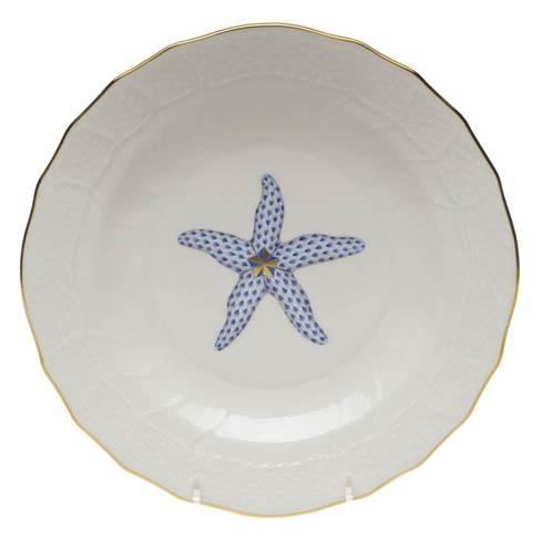 Herend Collections Aquatic Dessert Plate - Starfish $145.00